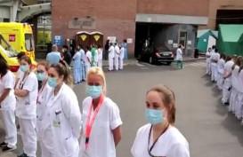 Protes Penanganan Covid-19, Tenaga Kesehatan Belgia Punggungi PM Sophie Wilmes
