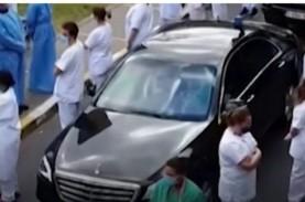 Kunjungi Rumah Sakit, PM Belgia Terima Sambutan Dingin…
