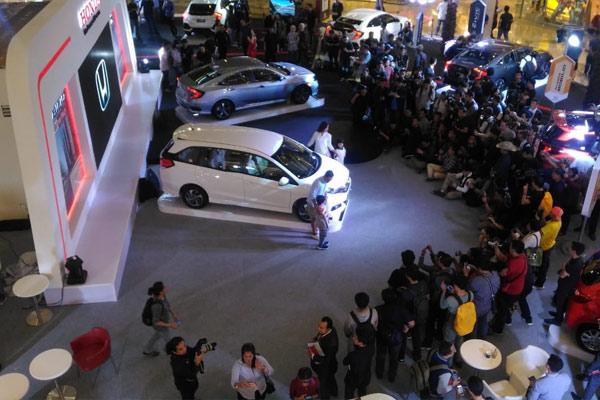 Peluncuran Honda New Mobilio dan Honda New Civic Turbo.  - MFM
