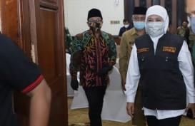 Jatim Gelontorkan Rp161,6 Miliar untuk PSBB II Surabaya, Gresik, Sidoarjo