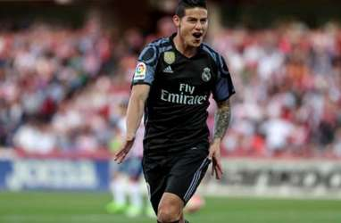 James Rodriguez 80 Persen dari Real Madrid ke Atletico