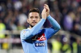 Begini Siasat Napoli agar Dries Mertens Tidak ke Inter…