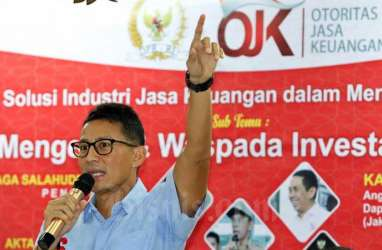 Sandiaga Uno Minta Calon Investor Wajib Gandeng UMKM di RUU Ciptaker