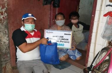 DAHANA Bagikan Ratusan Paket Sembako kepada Masyarakat Terdampak Corona
