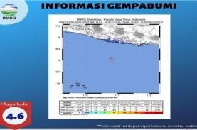 BMKG : Gempa Magnitudo 4,6 di Pacitan Akibat Aktivitas…