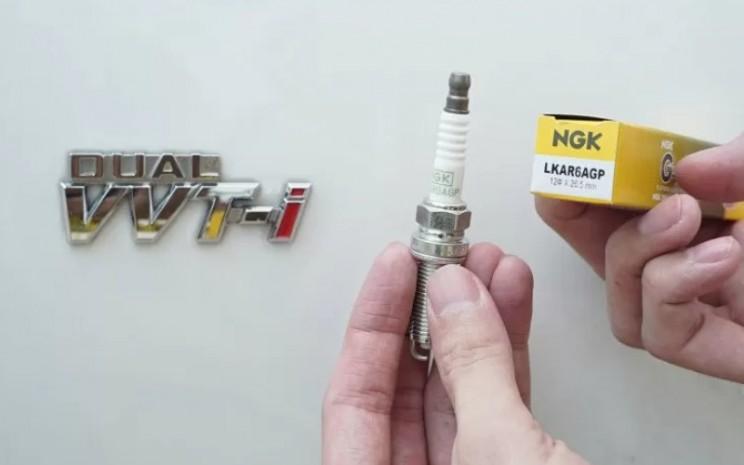 Busi NGK varian G/Power baru dengan kode LKAR6AGP. ANTARA