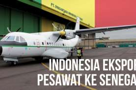 Indonesia Buatkan Pesawat untuk Senegal