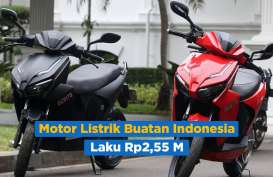 Motor Gesits Bertandatangan Presiden Jokowi Laku Rp2,55 Miliar