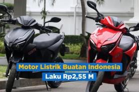 Motor Gesits Bertandatangan Presiden Jokowi Laku Rp2,55…