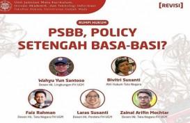 Riuh, Warganet Persoalkan Perubahan Dikusi PSBB di UGM, Pemerintah Sukanya Basa-Basi?