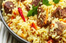 Inspirasi Menu Lebaran, Coba Nasi Kebuli Rice Cooker