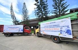 Direksi Bersama Dewan Komisaris, dan Karyawan Pupuk Kaltim Salurkan Donasi Rp2,2 Miliar Dari Alokasi THR