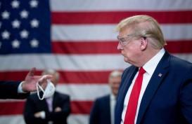 Respons Buruk Terhadap Corona Bikin Dukungan untuk Trump Berguguran