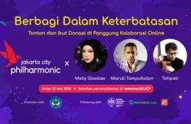 Bantu Pekerja Seni, Jakarta City Philharmonic Gelar Konser Daring