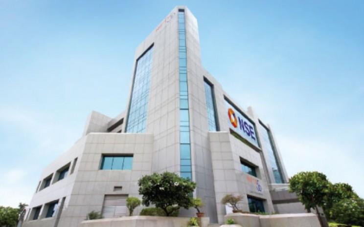 Gedung National Stock Exchange (NSE) di Mumbai, India. - nseindia.com