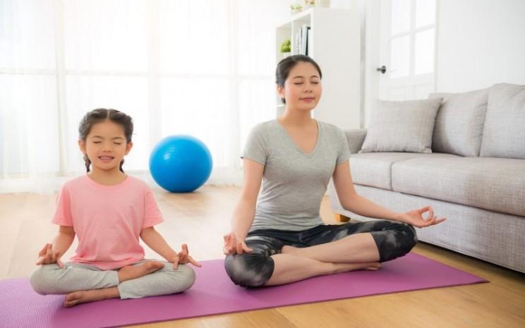 Penyembuhan holistik bisa dilakukan dengan bermeditasi. - istimewa