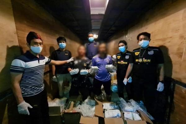 Penyelundupan 5 Kg Narkotika Jenis Sabu Berhasil Digagalkan Bea Cukai Jambi