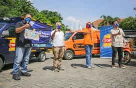 Dukung Penyaluran Donasi, Top 1 Indonesia Salurkan Bantuan untuk Perusahaan Logistik