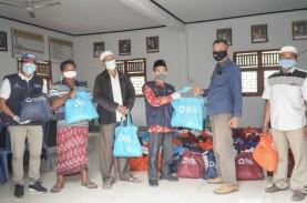 6 Desa Penyangga di Mandalika dapat 1.200 Paket Sembako