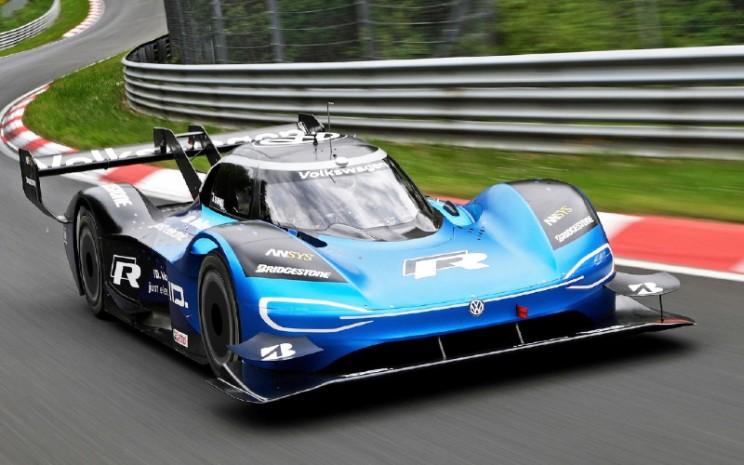 ID.R, mobil balap listrik Volkswagen.  - VOLKSWAGEN