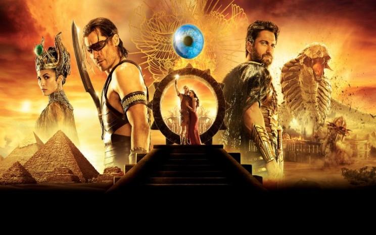 Sinopsis film Gods of Egypt. Film ini tayang di Bioskop TransTV
