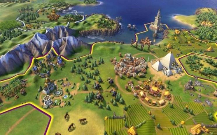 Ilustrasi Epic Games Civilization 6 - forbes.com