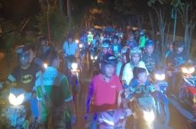 Malam Takbiran, Sejumlah Jalan di Garut Malah Dipadati…