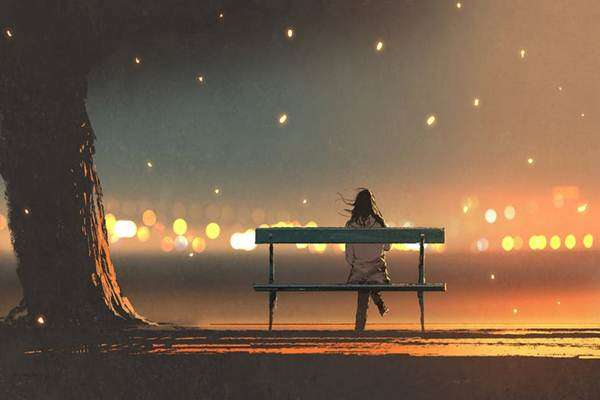 Ilustrasi kesepian - Istimewa