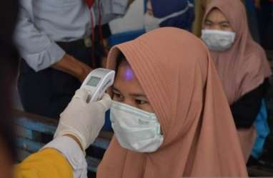 Suhu Tubuh Tinggi, Belasan Jemaah Salat Id di Cianjur Jalani Rapid Test
