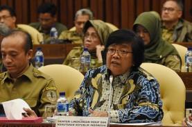 Menteri Siti Nurbaya Nikmati Halal Bihalal Virtual