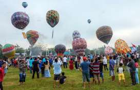 Langgar Larangan Penerbangan Balon Udara, Pemda Wonosobo Bakal Denda Rp500 Juta