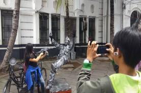 PSBB di Jakarta, Satpol PP Intensifkan Patroli di…