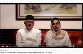 Lebaran 2020, Sri Mulyani Menangis Ucapkan Selamat Idulfitri