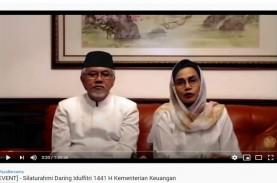 Rayakan Idulftri 2020, Sri Mulyani Gelar Halalbihalal…