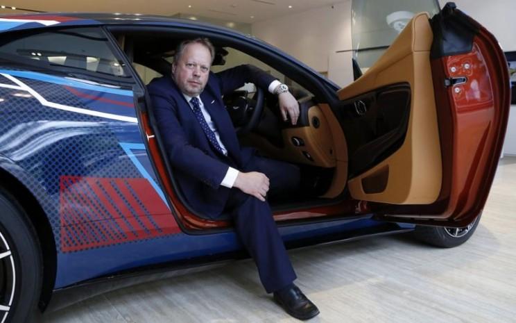 Aston Martin dikabarkan dalam waktu dekat akan mengganti Andy Palmer sebagai pimpinan perusahaan - Bloomberg/Vivek Prakash.