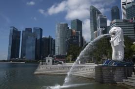 Kontraksi Memburuk Akibat Corona, Singapura Pangkas…