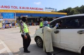 10.000 Polisi Cegah Arus Balik di Perbatasan Jateng
