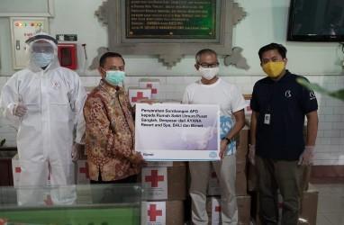Jaringan Hotel Ayana & Biznet Donasi APD ke Rumah Sakit di Bali
