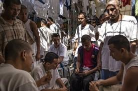 Narapidana di Penjara El Salvador Ramai-ramai Positif…