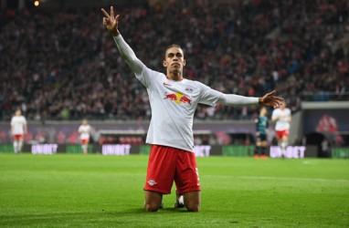 RB Leipzig Terancam Kehilangan Yussuf Poulsen Hingga Akhir Musim