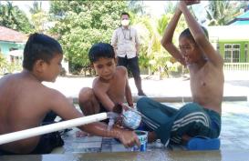 Pentingnya Air Bersih di Masa Pandemi Pakai Teknologi GWFS; Bor Kedalaman 120 Meter