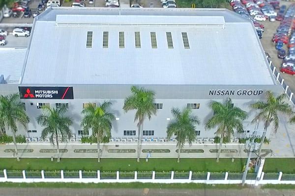 Pusat Pelatihan Bersama Aliansi Renault-Nissan-Mitsubishi.  - Nissan