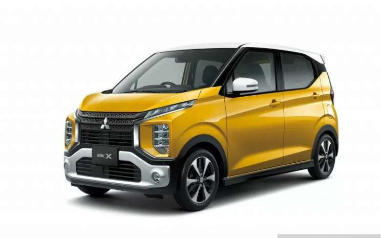 Mitsubishi eK X atau eK Cross. MMKSI