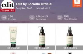 Sociolla Resmi Hadir di Shoppe lewat Edit by Sociolla