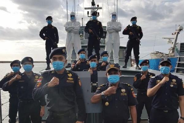 Di Tengah Pandemi, Bea Cukai Bali Nusra Tetap Laksanakan Patroli Laut