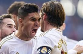 Real Madrid Beri Kontrak Baru untuk Casemiro, Kapten Ramos Belum