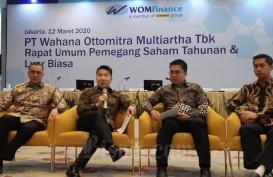 Akhir April 2020, Kinerja Pembiayaan WOM Finance Turun 24 Persen
