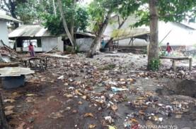 Banjir Rob Melanda Pesisir Pantai di Tasikmalaya dan…