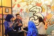 Konferensi Video Dongkrak Trafik Data 3 Indonesia saat Lebaran