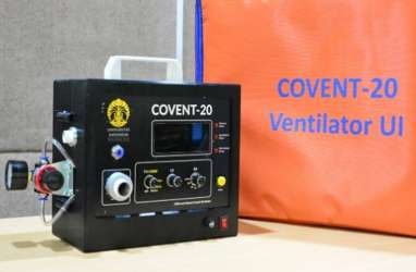 Adaro Sumbang Rp2,5 Miliar untuk Bikin Ventilator Covent-20 Rakitan UI